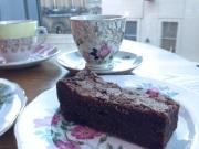 tea-and-brownie