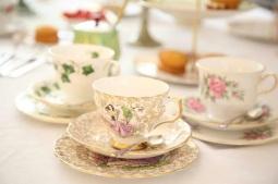 clares vintage tea party
